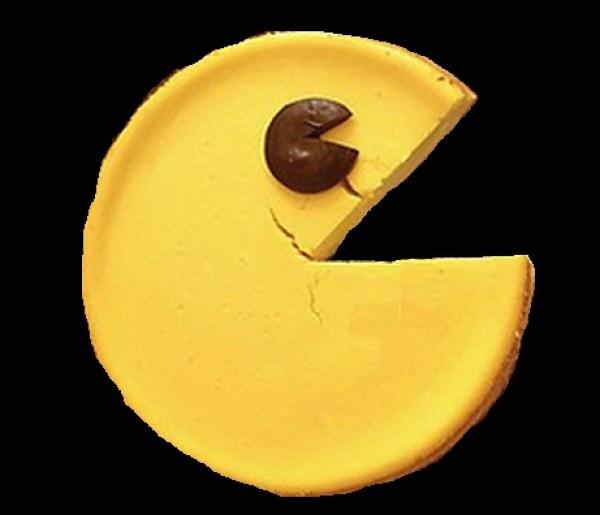 Pac-Man Cheesecake
