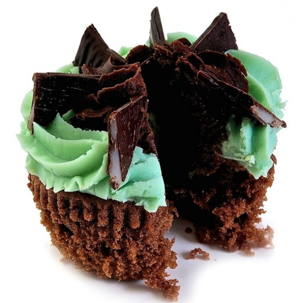 After Eight Mint Cupcake