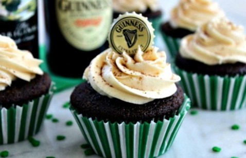 Guinness Beer Cupcakes