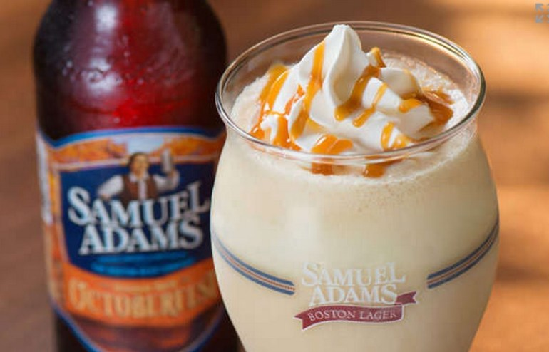 Beer and Caramel Milkshake