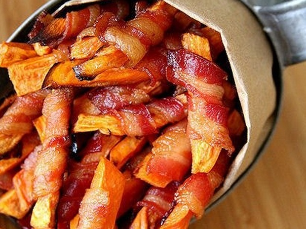 Bacon-Wrapped Fries