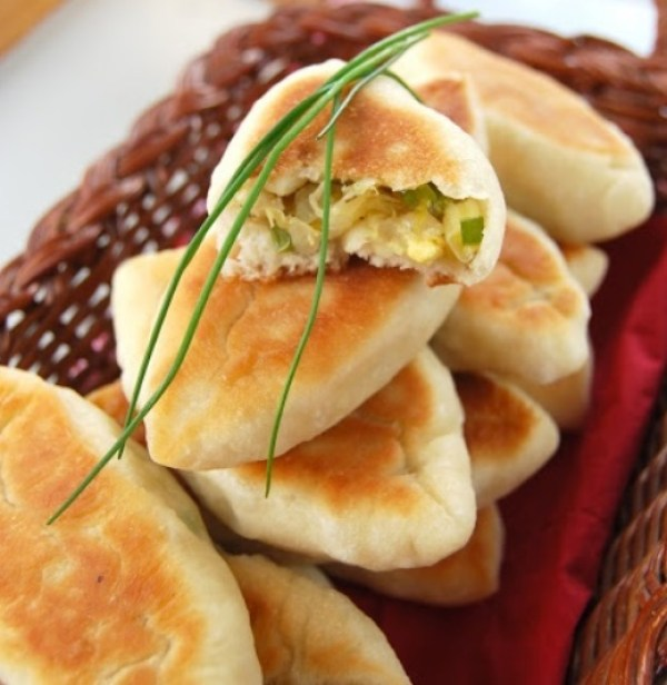 Cabbage And Lenten Piroshki