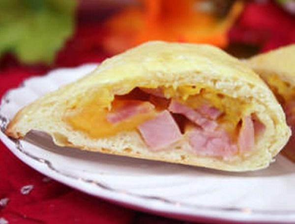 Ham and Cheese Piroshki