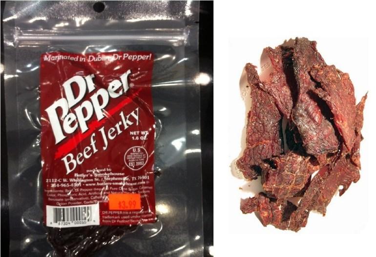 Dr. Pepper Beef Jerky