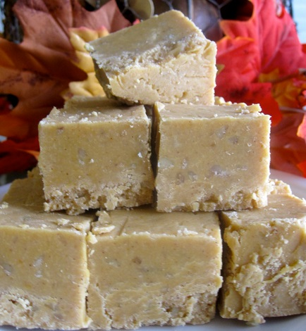 Homemade Pumpkin Pie Fudge