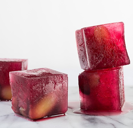 Concord Grape Ice Cubes