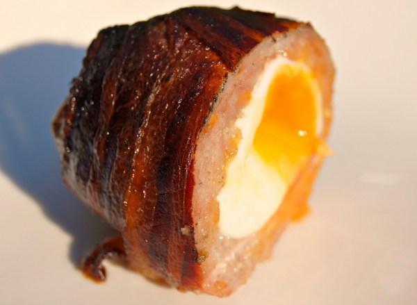 Bacon Wrapped Scotch Eggs