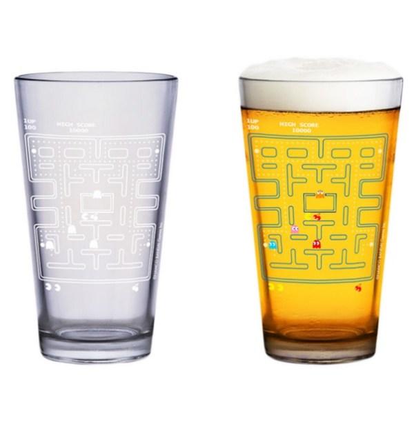 PAC-MAN Colour Change Pint Glass