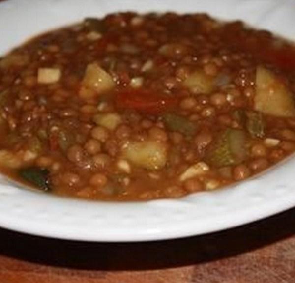 Lentil and Cactus Soup