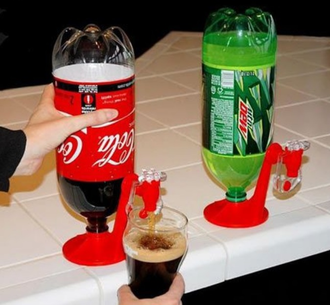 Fizz Drinks Bottle Tap Dispenser