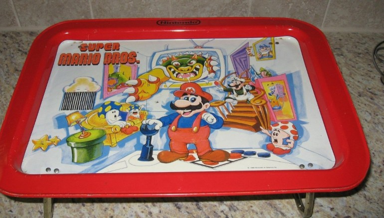 Super Mario Dinner Serving Tray