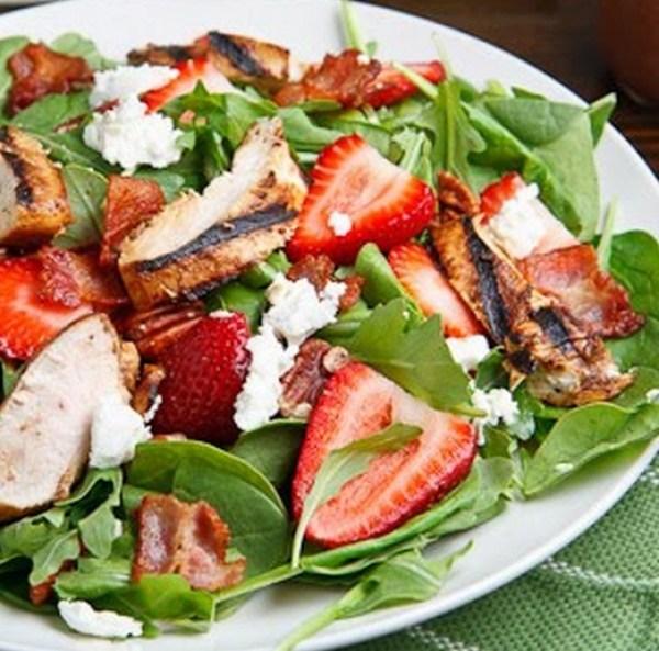 Strawberry & Chicken Salad