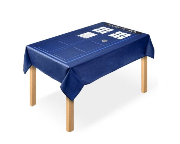 TARDIS Tablecloth