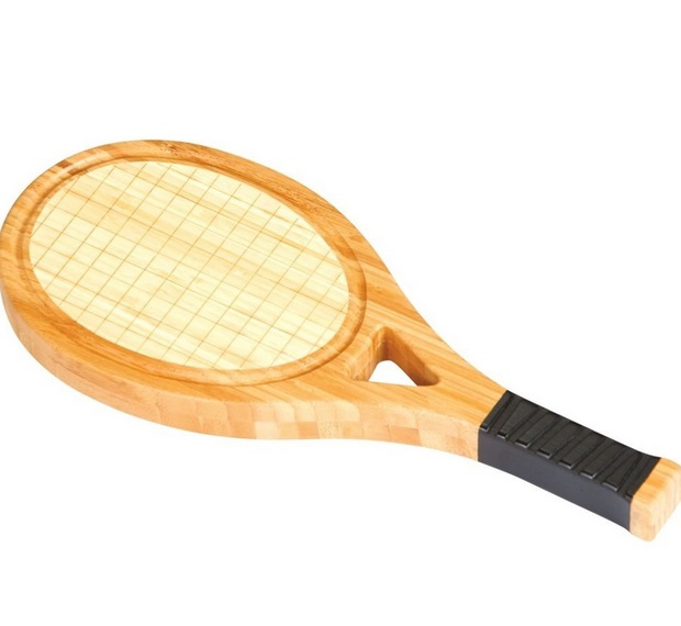 Tennis Racquet Cheese Board