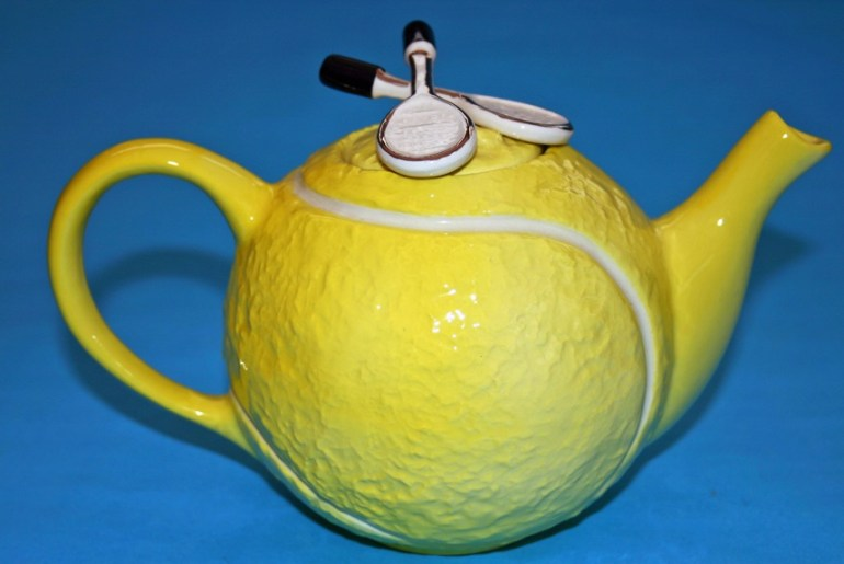 Tennis Ball Tea Pot