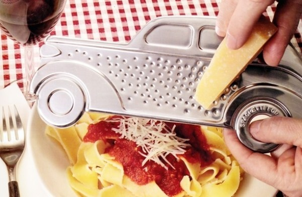 Gangster Car Cheese Grater