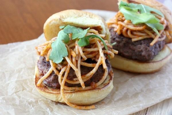 Spaghetti Burger Topping