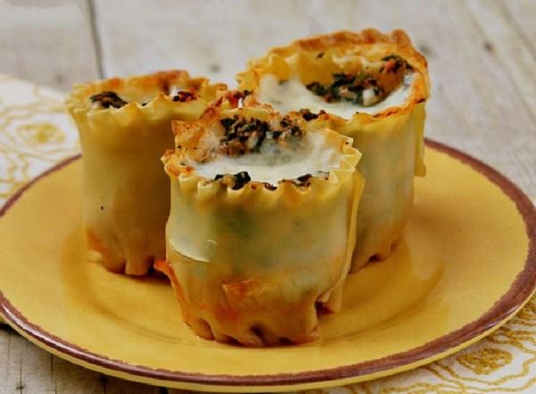 Lasagna Muffins