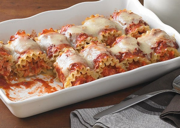 Spicy Chicken Lasagna Roll-Ups
