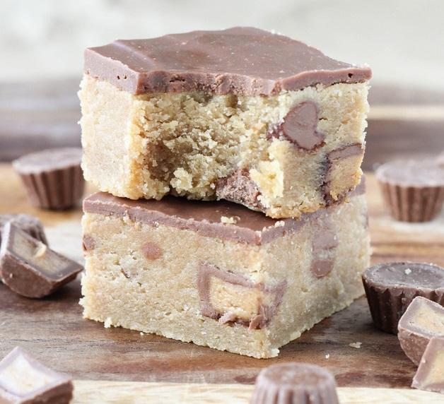 Fudge Style Peanut Butter & Milk Chocolate Bars