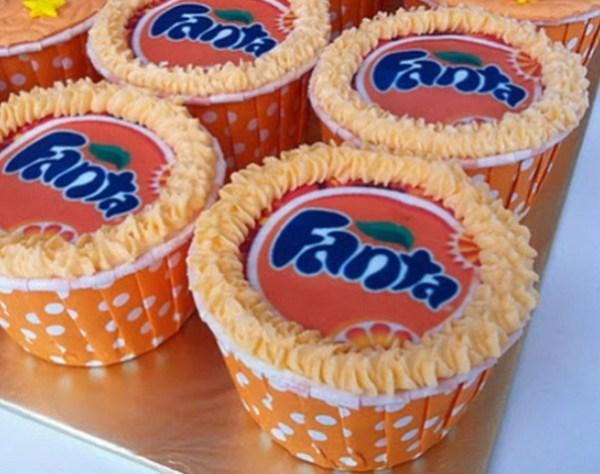 Fanta Pop Cupcakes