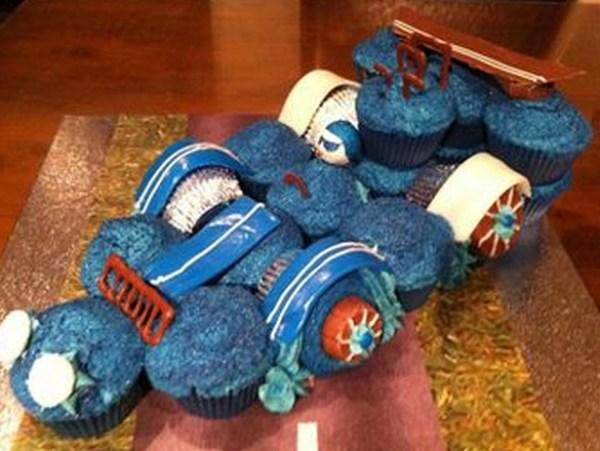 Racing Car Cupcakes