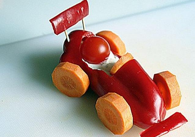 Red Pepper Racing Car