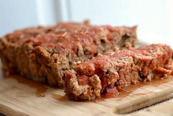 Bloody Mary Vodka Meatloaf