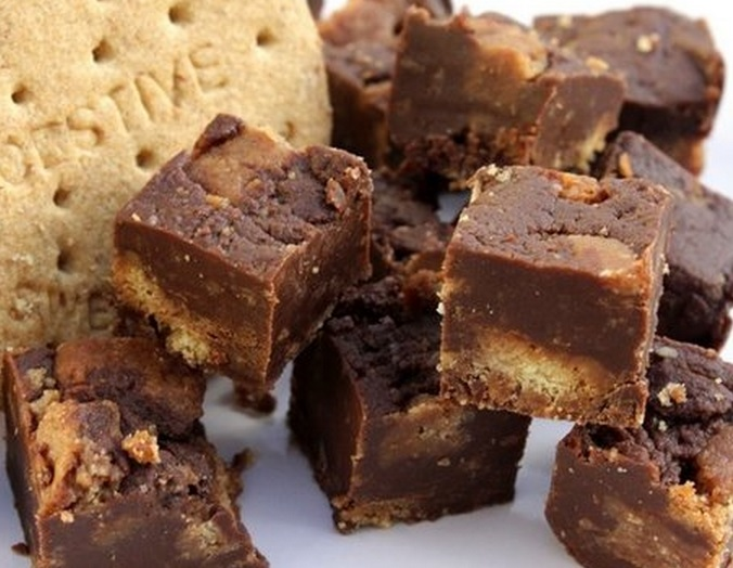 Digestive Biscuit Fudge