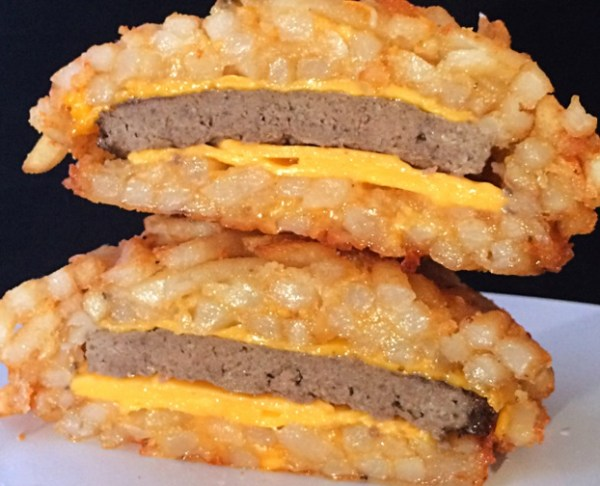 French Fry Burger Bomb