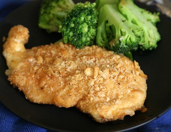 Ritz Cracker & Butter Chicken