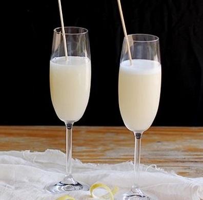 Lemon Sorbet Cocktails