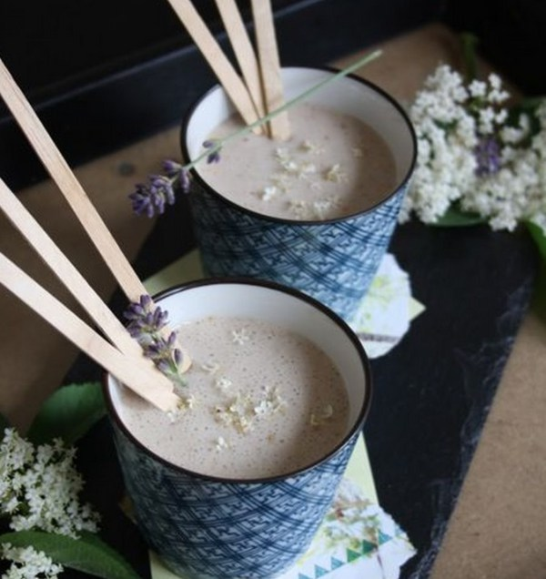 Elderflower Milkshakes
