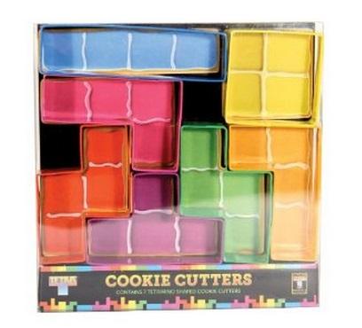 Tetris Cookie Cutters