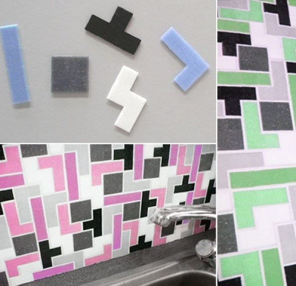 Tetris Kitchen Tiles