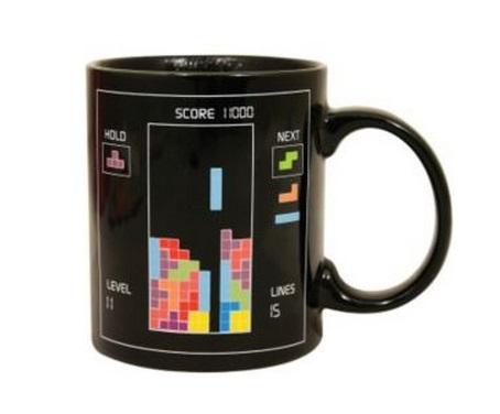 Tetris Heat Changing Coffe Mug