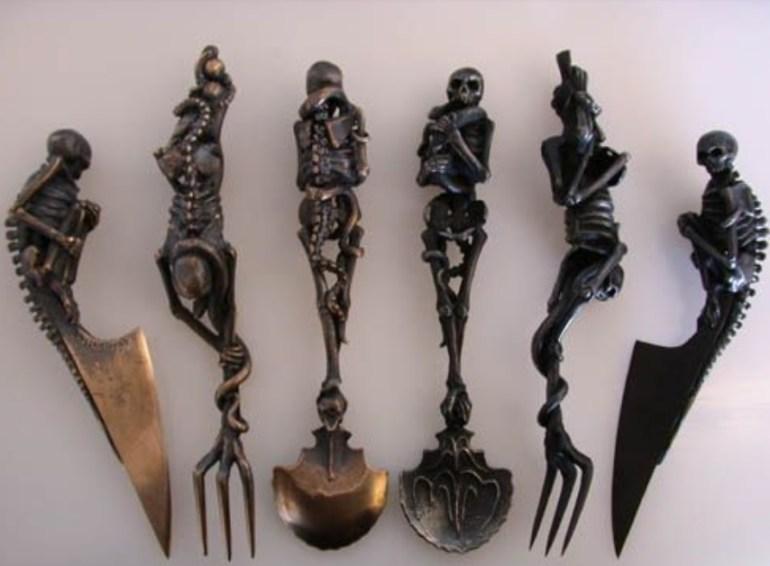 Skeleton Cutlery Set