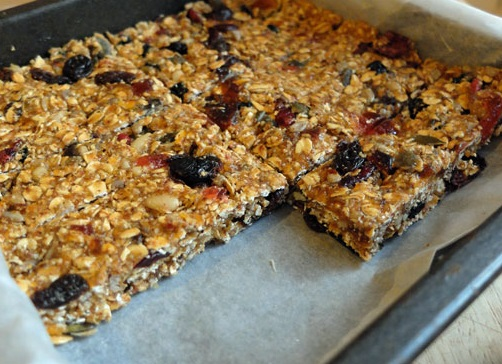 No-Bake Oat and Seed Tray