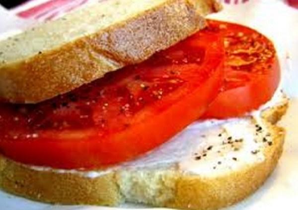 Summer Tomato Sandwich