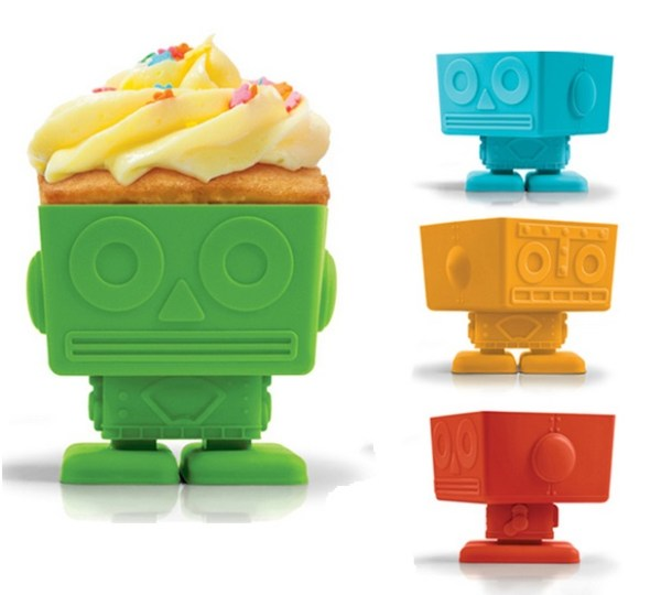 Yumbot Silicone Cupcake Molds
