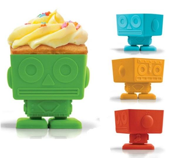 Yumbot Silicone Cupcake Molds