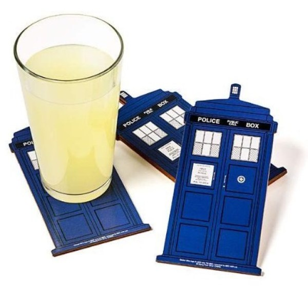 Dr Who: TARDIS Drink Coasters