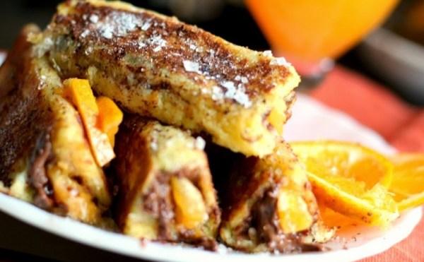 Chocolate Orange French Toast Roll-Ups