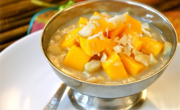Mango & Coconut Rice Pudding