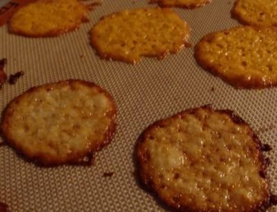 Homemade Baked Cheese Crisps