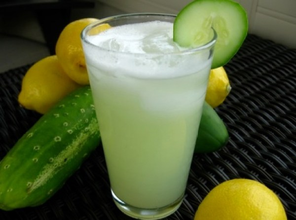 Homemade Cucumber Lemonade Recipe