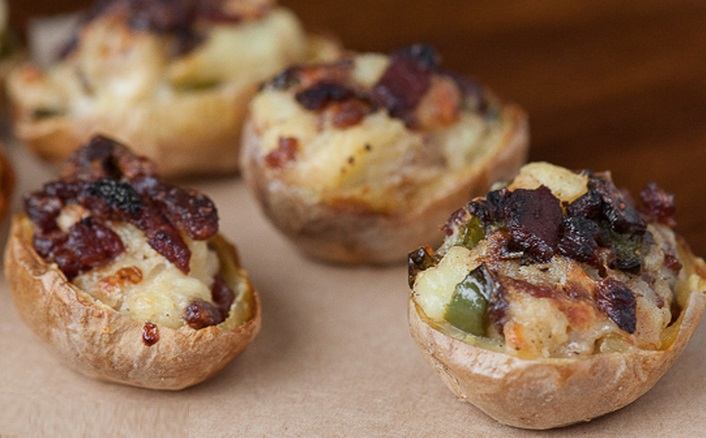 Jalapeño Bacon Twice Baked Potatoes
