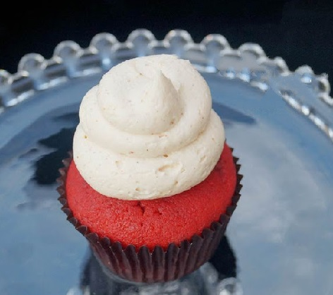 Bloody Mary Cupcakes