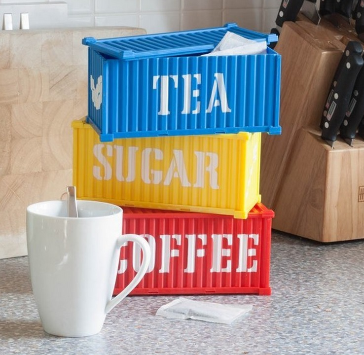Tea, Coffee And Sugar Cargo Containers