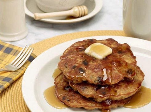 Oat Cookie Pancakes
